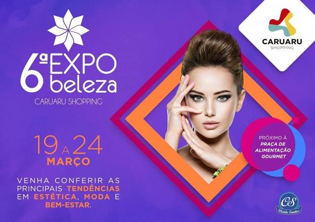 6ª Expo Beleza será realizada em centro de compras de Caruaru