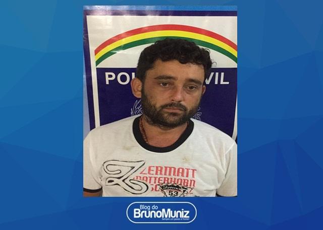 Acusado de tráfico de drogas é detido na zona rural de Vertentes