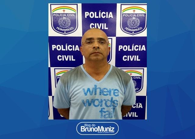 Acusado de ser mandante do homicídio que vitimou radialista em Santa Cruz do Capibaribe é preso