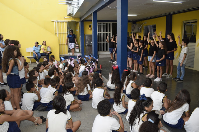 Escola Dinâmica realiza comemorações com foco no verdadeiro sentido da Páscoa
