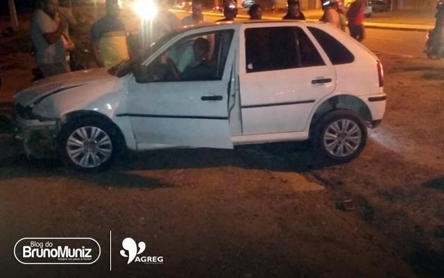 Acidente envolve três veículos em Santa Cruz do Capibaribe