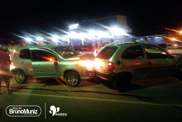Acidente é registrado no perímetro urbano de Santa Cruz do Capibaribe