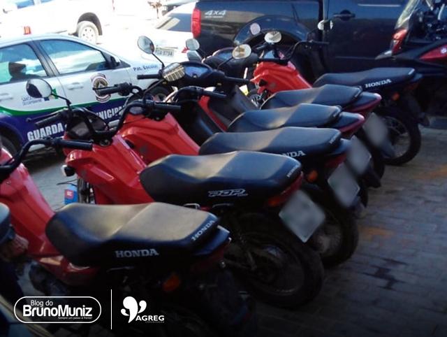 Guarda Civil Municipal localiza diversas motocicletas roubadas em Santa Cruz do Capibaribe