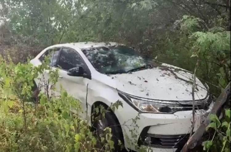 Cantor Batista Lima sofre acidente na BR-232