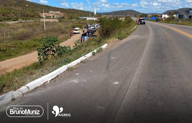 Acidente gravíssimo é registrado em distrito de Taquaritinga do Norte