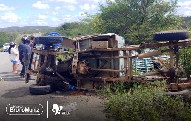 Homem morre após capotamento de veículo em Santa Cruz do Capibaribe