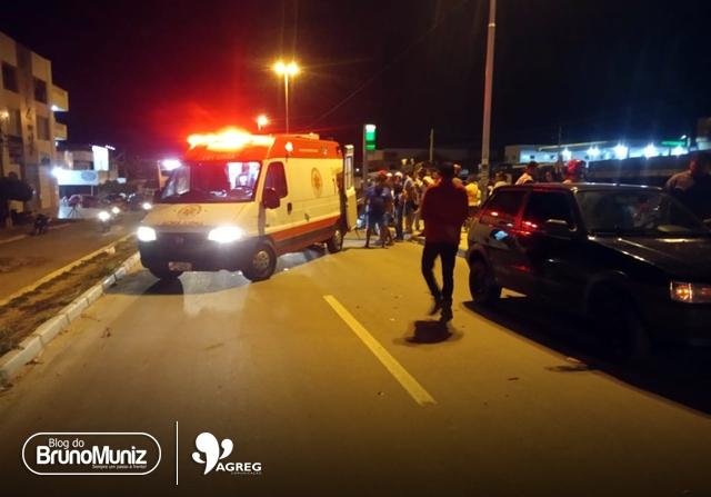 Casal fica ferido após acidente na rodovia PE-160