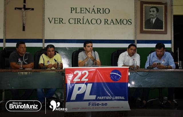 Plenária do PL é realizada em Santa Cruz do Capibaribe