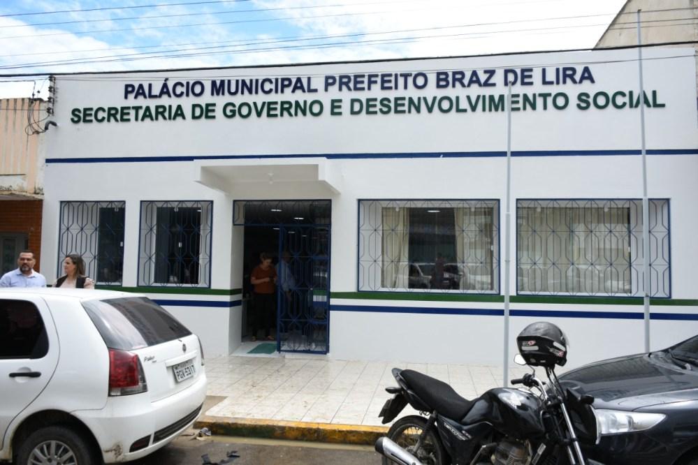 Secretaria de Governo e Desenvolvimento Social passa a funcionar em novo prédio em Santa Cruz do Capibaribe