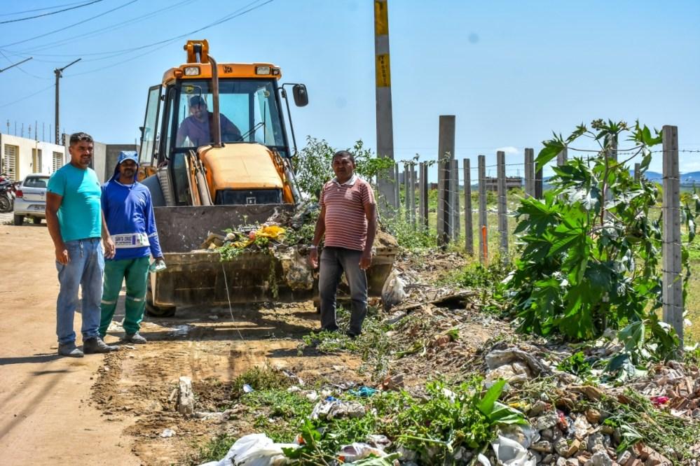 Polis Pacas recebe 'Caravana da Limpeza' em Santa Cruz do Capibaribe