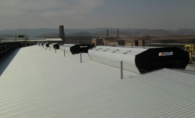 Sistema que visa melhorar o conforto térmico no Moda Center está em processo de produção