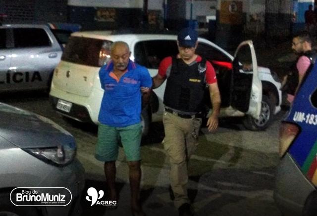 Suspeito de participar da morte de vereador na Paraíba é preso em Taquaritinga do Norte