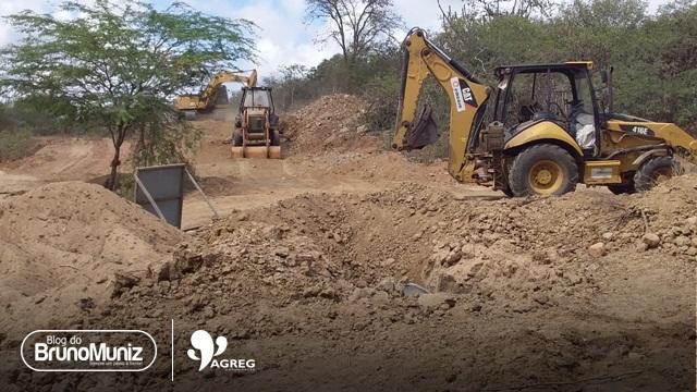 Obras da Adutora do Alto Capibaribe avançam na zona rural de Santa Cruz do Capibaribe