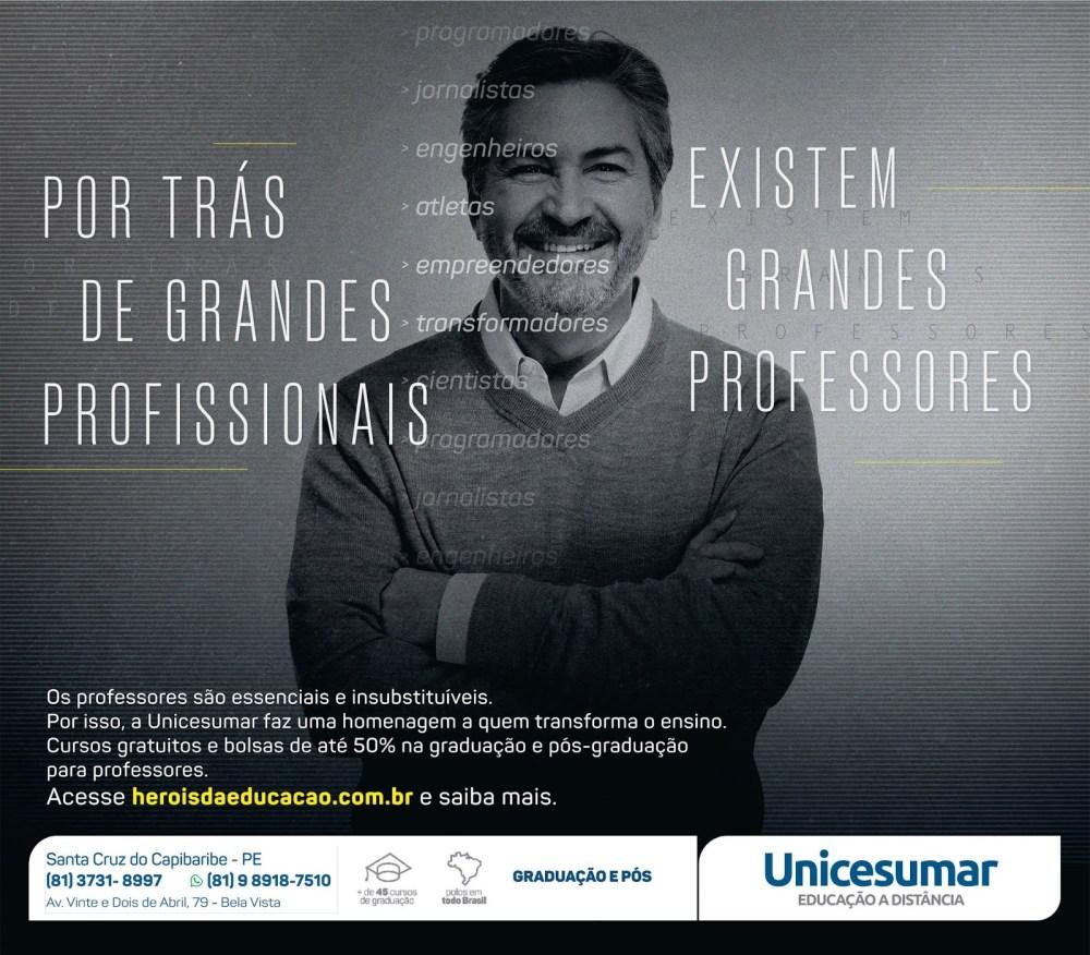 Unicesumar está com promoção especial para professores