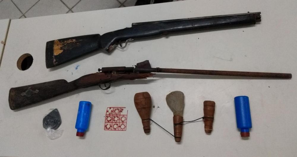 Homem é preso por posse ilegal de arma de fogo, em Toritama