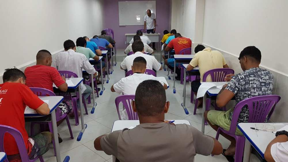 Prova para presos reeducados tem aumento no número de inscritos em Pernambuco