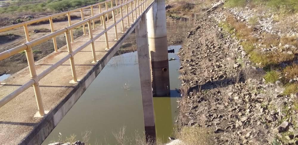 Barragem que atender Jataúba entra em colapso e compesa suspende abastecimento