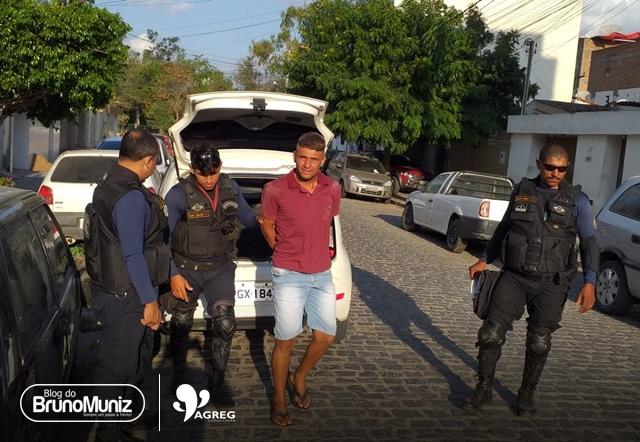 Acusado de homicídio é preso em Taquaritinga do Norte