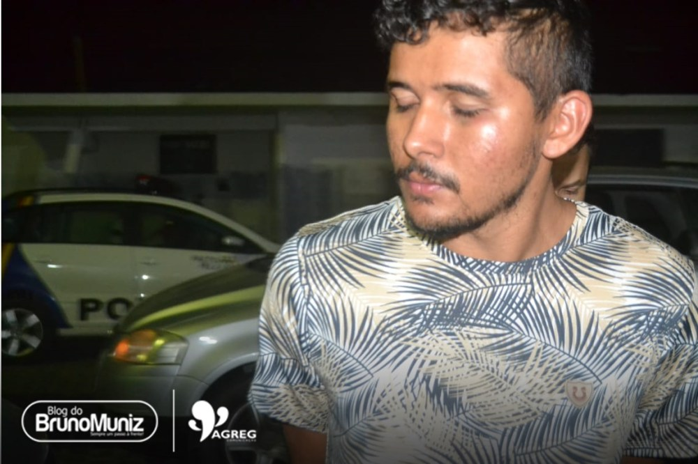 Homem é preso por suposto envolvimento em crimes em Santa Cruz do Capibaribe