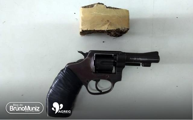 Polícia desarticula ponto de tráfico de drogas em Santa Cruz do Capibaribe