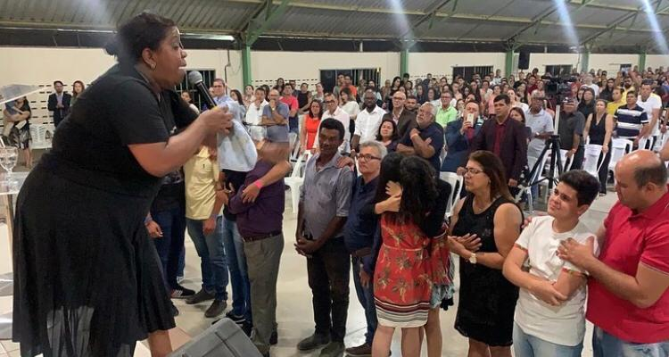 Igreja Vale da Benção realiza retiro espiritual na zona rural de Zona rural de Taquaritinga Do Norte
