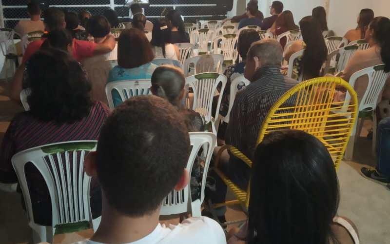 Igreja Missionária Shalom realiza retiro espiritual em Taquaritinga do Norte