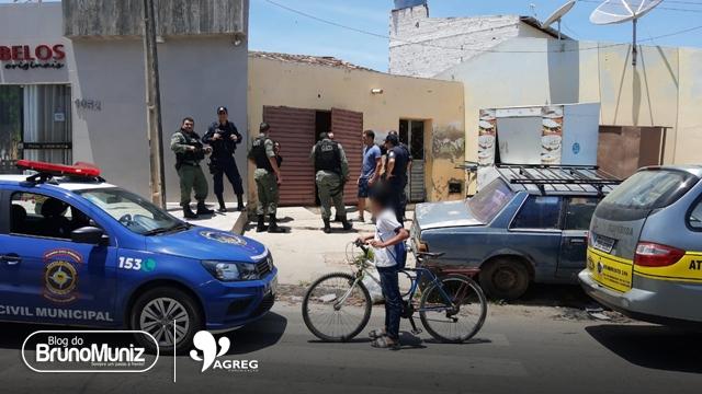 Homem é assassinado e mulher fica ferida em Santa Cruz do Capibaribe