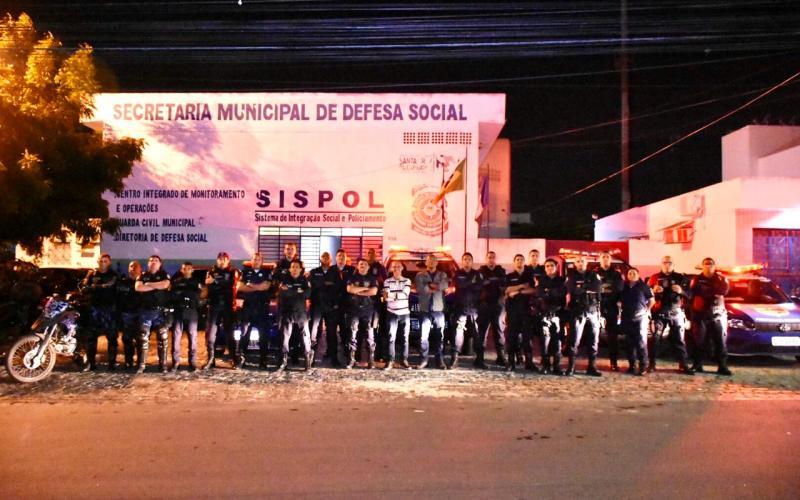 Guarda Civil Municipal de Santa Cruz do Capibaribe realiza balanço da Operação Carnaval