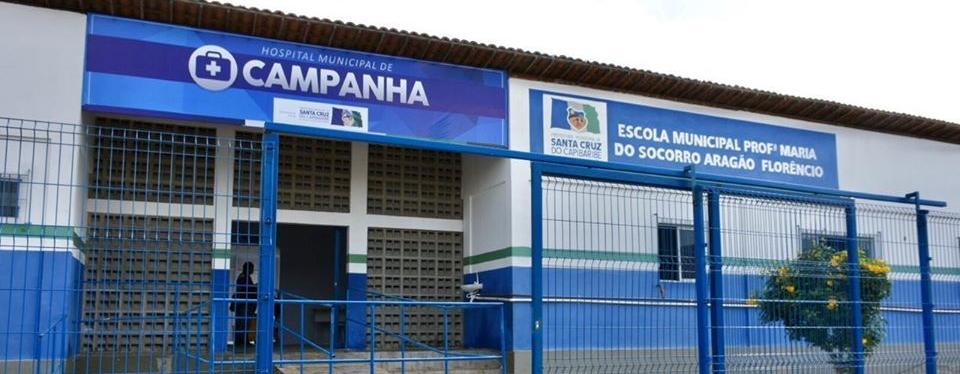 Prefeitura de Santa Cruz do Capibaribe inaugura hospital de campanha