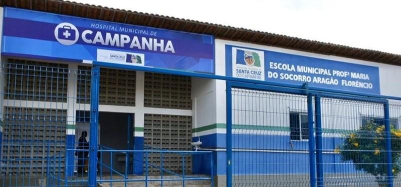 Hospital de Campanha de Santa Cruz do Capibaribe começa a receber pacientes  com Covid-19 | Blog do Bruno Muniz