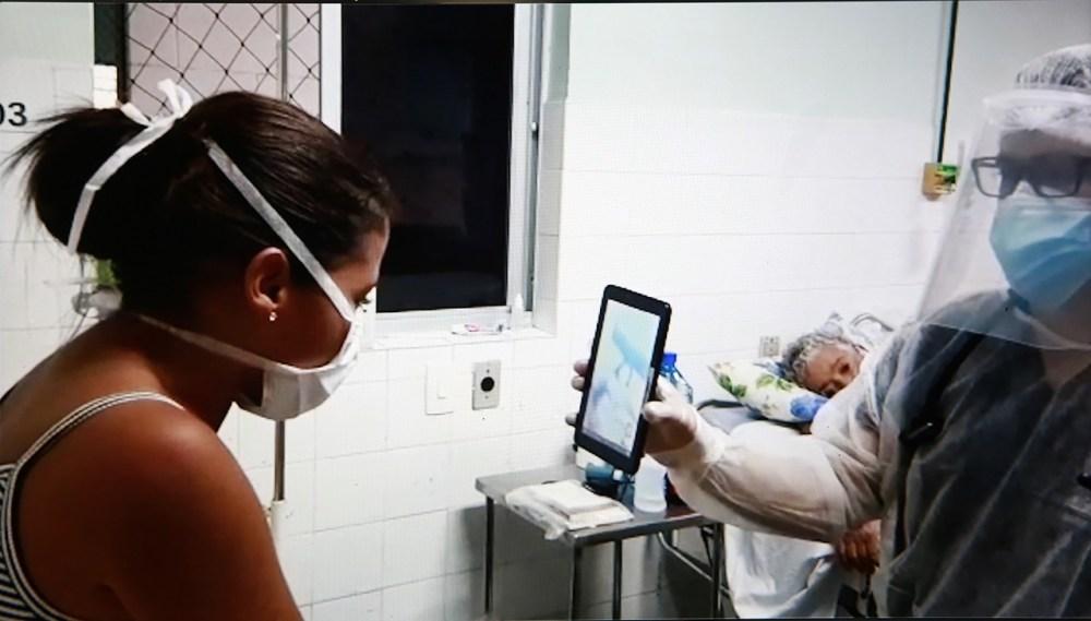 Empresas parceiras do Governo de Pernambuco doam tablets para que infectados com coronavírus mantenham contato com familiares