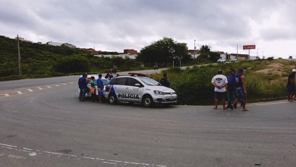 Homicídio é registrado na PE-160 em Santa Cruz do Capibaribe