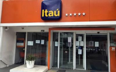 Agência do Itaú em Santa Cruz do Capibaribe deve retomar as atividades na terça (26)