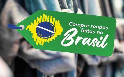 """CDL de Santa Cruz do Capibaribe lança campanha """"Compre roupas feitas no Brasil"""""""