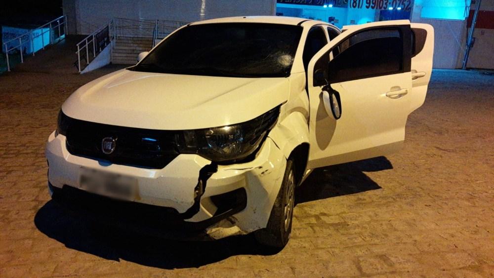 Grave acidente é registrado no perímetro urbano de Santa Cruz do Capibaribe