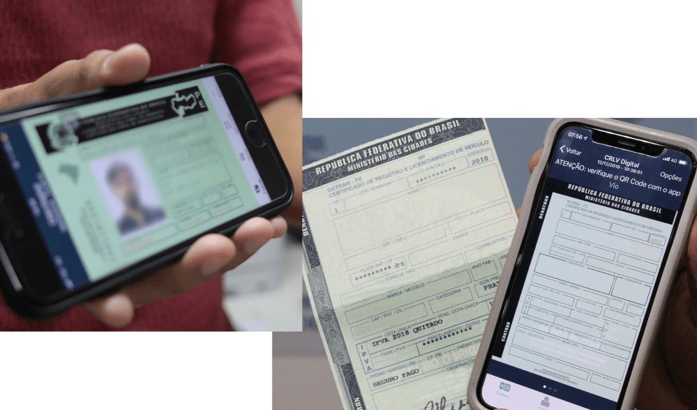 DETRAN-PE adota CNH e CRLV digital para veículos de Pernambuco