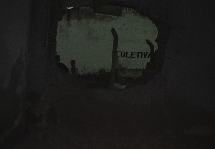 Após explosão de muro, detentos fogem do presídio de Limoeiro, no Agreste