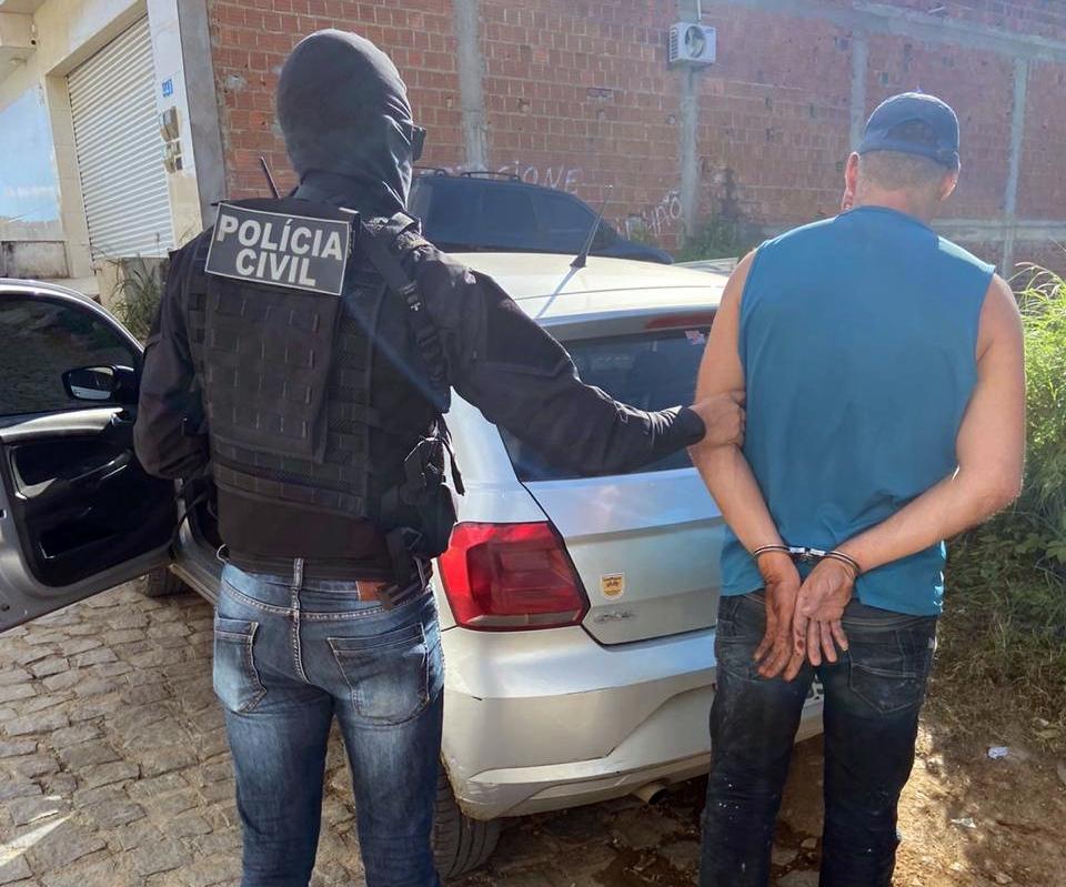 Mandado de prisão é cumprido em Toritama, no Agreste