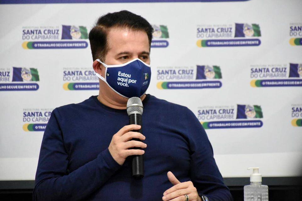 Prefeito Edson Vieira reencaminha projeto do Santa Cruz PREV para Câmara