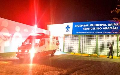 Homem fica ferido após cair de escada em Santa Cruz do Capibaribe