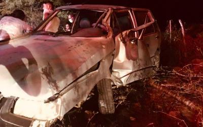 Grave acidente é registrado na estrada do Pará, em Santa Cruz do Capibaribe