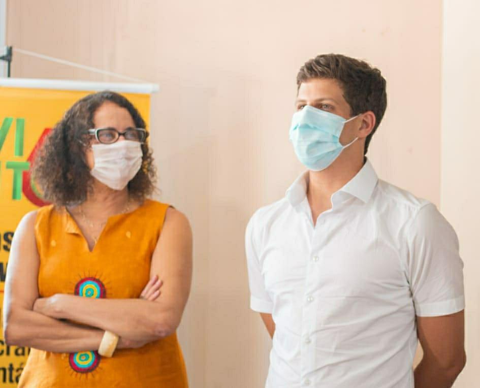 Luciana Santos tece elogios a João Campos após anúncio de apoio do PCdoB ao PSB em Recife