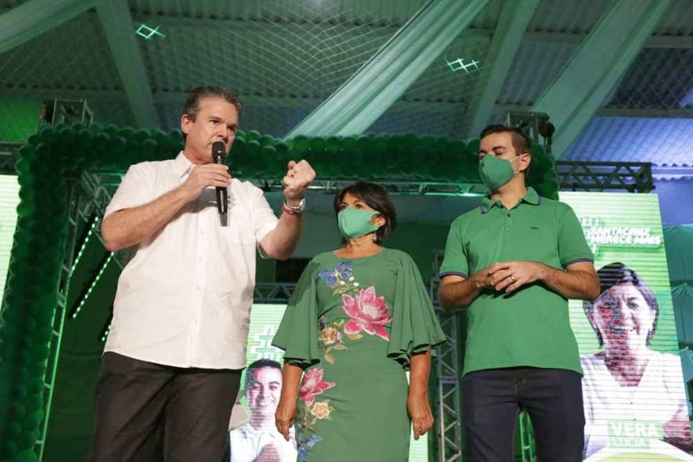 Allan Carneiro e Vera Lúcia realizam convenção partidária no Viventy
