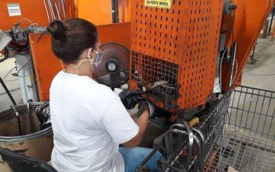 Indústrias abrem espaço para mão de obra de reeducandas