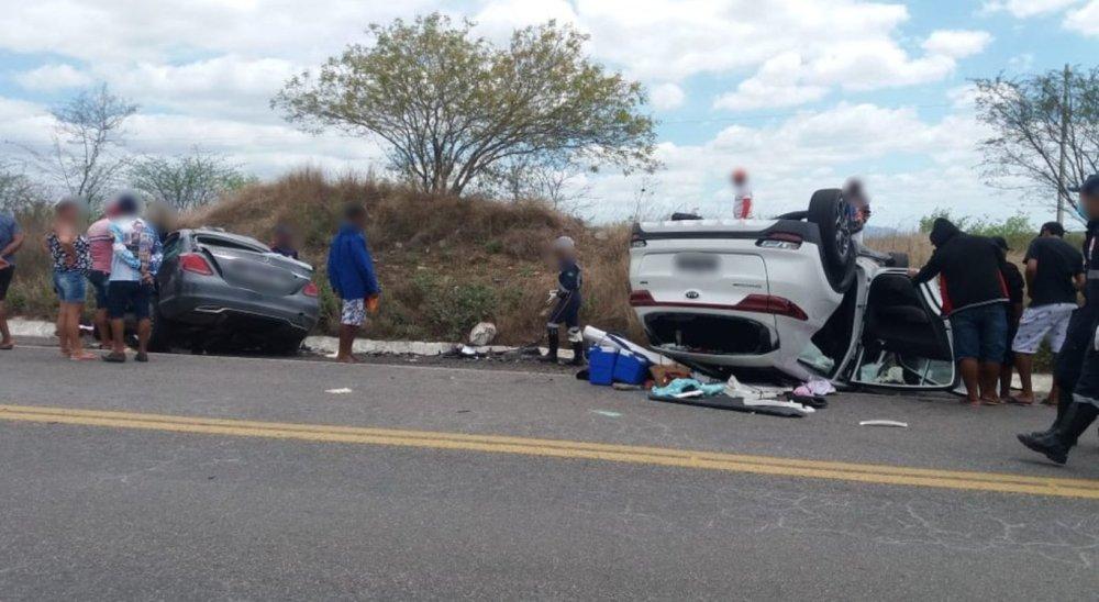 Cinco pessoas morrem após acidente na BR-423, no Agreste pernambucano