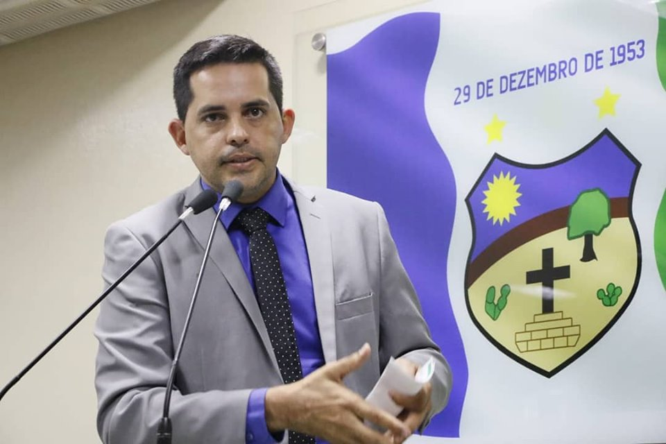 Vereador Nailson Ramos é internado para tratamento da Covid-19