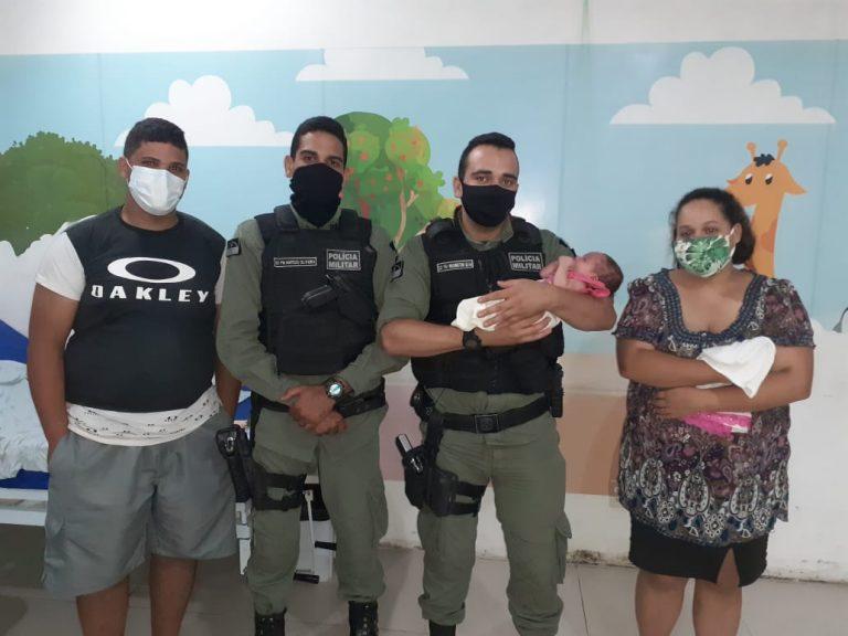 Polícia Militar salva bebê engasgada no Agreste de Pernambuco