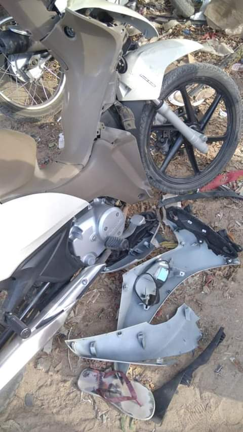 Mais um acidente é registrado no bairro São Miguel, em Santa Cruz do Capibaribe