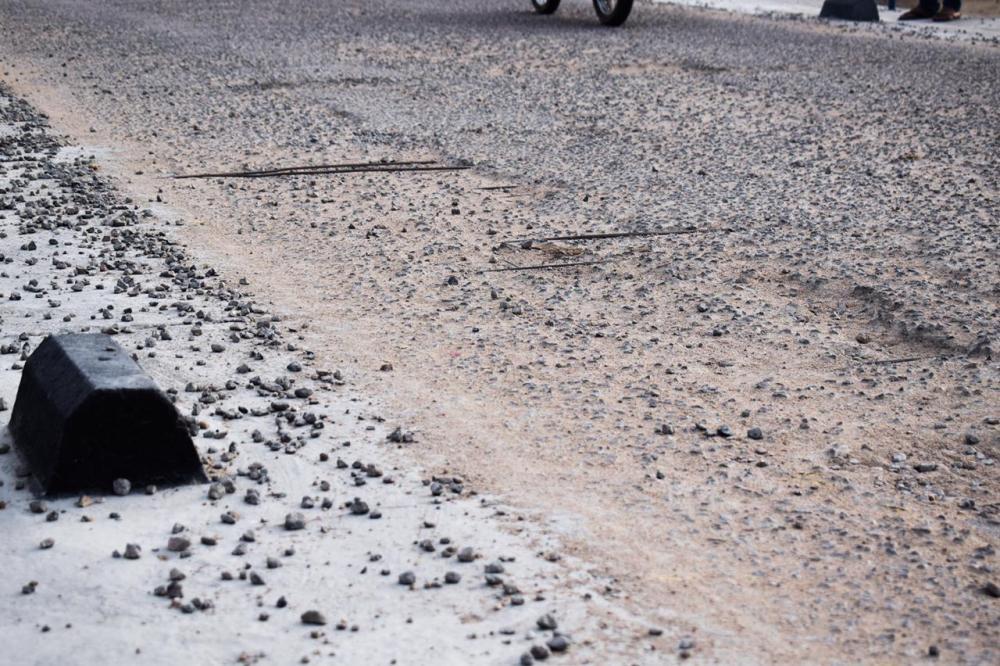 Recém inaugurada, passagem molhada entre São Domingos e Santa Cruz do Capibaribe já apresenta problemas estruturais