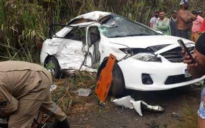 Acidente no Litoral de Pernambuco deixa 3 jovens de São Domingos e Santa Cruz mortas